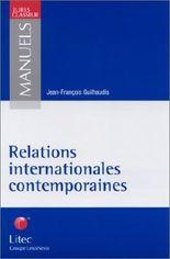 Relations internationales contemporaines (ancienne édition)