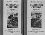 Robinson Crusoe. Erster und zweiter Teil.