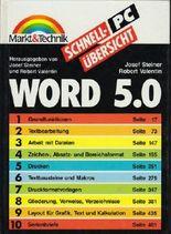 Schnellübersicht WORD 5.0