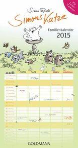 Simons Katze Familienkalender 2015