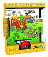 Spur-Puzzle-Buch Dampflok