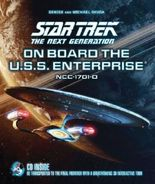 Star Trek The Next Generation: On Board the U.S.S. Enterprise: Be Transported to the Final Frontier with a Breathtaking 3D Tour