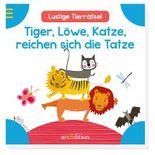 Tiger, Löwe, Katze, reichen sich die Tatze