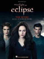 Twilight Eclipse Music From The Film Score Big Note Piano Book