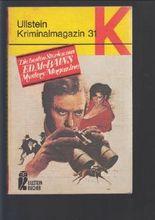 Ullstein Kriminalmagazin 31, Die besten Stories aus Ed McBains Mystery Magazine