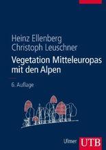Vegetation Mitteleuropas mit den Alpen