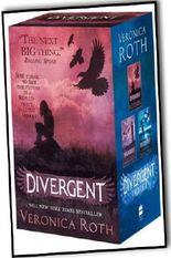 Veronica Roth Divergent Insurgent Allegiant Trilogy 3 Books Collection Set