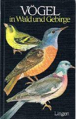 Vögel in Wald und Gebirge.
