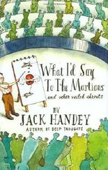 What I'D Say to the Martians by Handey, Jack (2008) Hardcover