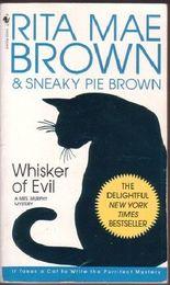 Whisker of Evil - A Mrs Murphy Mystery (Bantam)