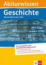 Abiturwissen Geschichte: Deutschland nach 1945