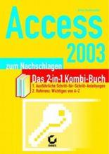Access 2003 zum Nachschlagen