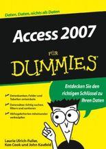 Access 2007 Fur Dummies