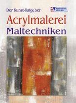 Acrylmalerei, Maltechniken
