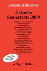 Aktuelle Steuertexte 2009