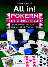 All in! Pokern für Einsteiger