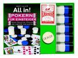 All in! Pokern für Einsteiger, m. Poker-Karten u. Chips