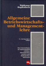 Allgemeine Betriebswirtschafts- und Managementlehre