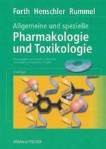 Allgemeine und spezielle Pharmakologie und Toxikologie, m. CD-ROM