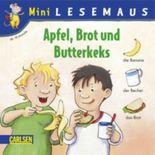 Apfel, Brot und Butterkeks