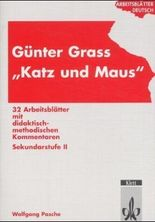 """Arbeitsblätter Günter Grass """"Katz und Maus"""""""