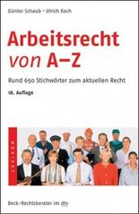 Arbeitsrecht von A - Z