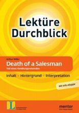 Arthur Miller: Death of a Salesman. Tod eines Handlungsreisenden - Buch mit Info-Klappe