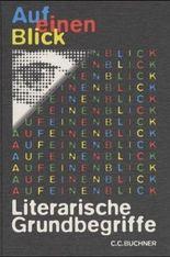 Auf einen Blick, Literarische Grundbegriffe, neue Rechtschreibung