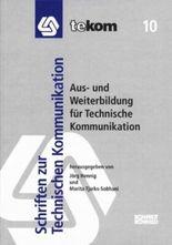 Aus- und Weiterbildung für Technische Kommunikation
