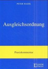 Ausgleichsordnung, Kommentar (f. Österreich)