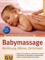 Babymassage Berührung, Wärme, Zärtlichkeit