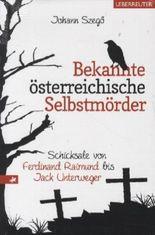 Bekannte österreichische Selbstmörder