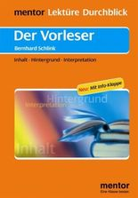 Bernhard Schlink: Der Vorleser - Buch mit Info-Klappe