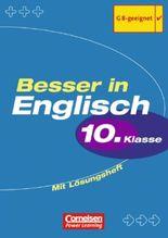 Besser in Englisch. Sekundarstufe I / 10. Schuljahr - Übungsbuch mit separatem Lösungsheft (12 S.)