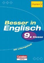 Besser in Englisch. Sekundarstufe I / 9. Schuljahr - Übungsbuch mit separatem Lösungsheft (12 S.)