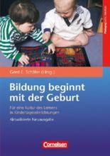 Bildungs- und Erziehungspläne / Bildung beginnt mit der Geburt