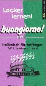 buongiorno!, Wortschatz in Lernbox. Tl.1