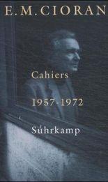 Cahiers 1957-1972