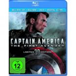Captain America - The First Avenger 3D, Limited Edition, 1 Blu-ray + Digital Copy