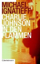 Charlie Johnson in den Flammen