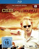 CSI: Miami, 4 Blu-rays. Season.8