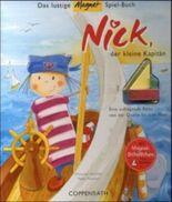 Das lustige Magnet-Spiel-Buch - Nick, der kleine Kaptitän