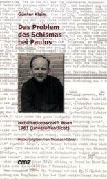 Das Problem des Schismas bei Paulus