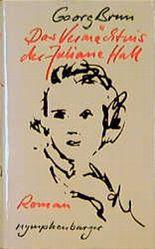 Das Vermächtnis der Juliane Hall