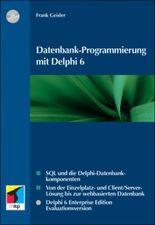 Datenbank-Programmierung mit Delphi 6, m. CD-ROM