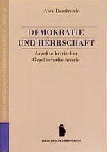 Demokratie und Herrschaft