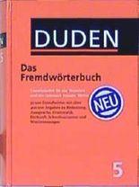 Der Duden, 12 Bde., Bd.5, Duden Fremdwörterbuch: Duden 3