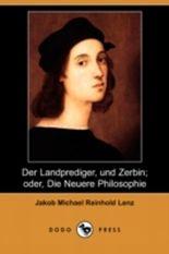 Der Landprediger, Und Zerbin; Oder, Die Neuere Philosophie (Dodo Press)