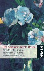 Des Sommers letzte Rosen