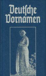 Deutsche Vornamen